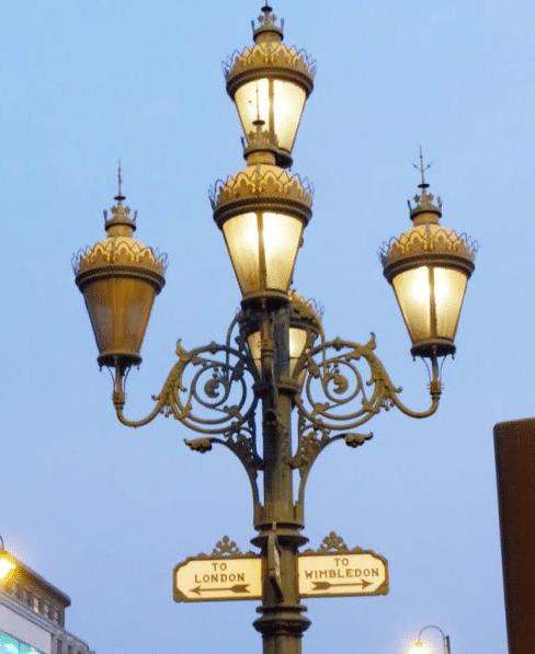 Gas lights