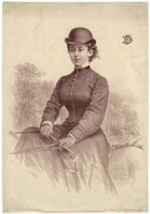 Lady Florence Dixie, author and feminist