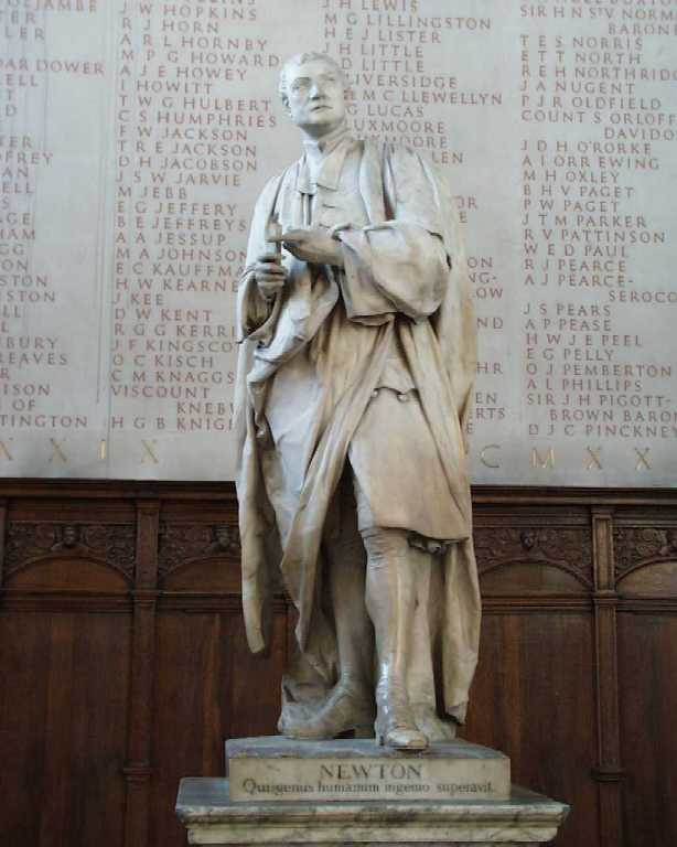 Isaac Newton at Trinity College Cambridge - Intriguing History