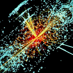 Hooke and Hggs Boson Collision of Particles
