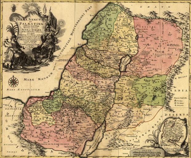 Digital atlas of the Holy Land