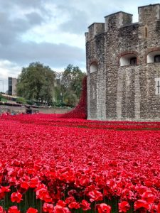 Tower of London an outpouring of national recognition.