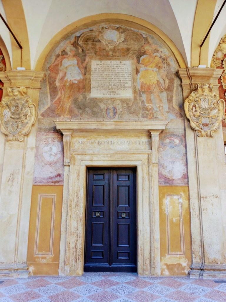 Anatomical Theatre of the Archiginnasio dissecting theatre