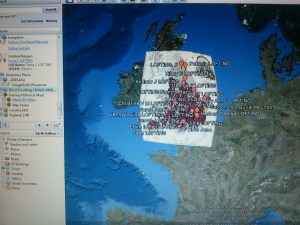 an Intriguing Mapping Project