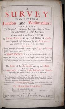 John Strype's Survey of London 1720