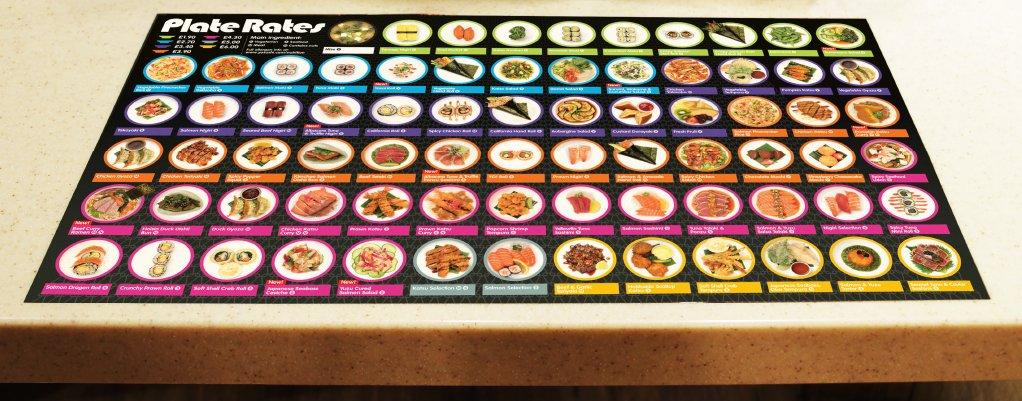 Yo Sushi Menu 2015 Intro Uk Design Direction