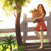 17 cartoons mostrando a magia de viver sozinho
