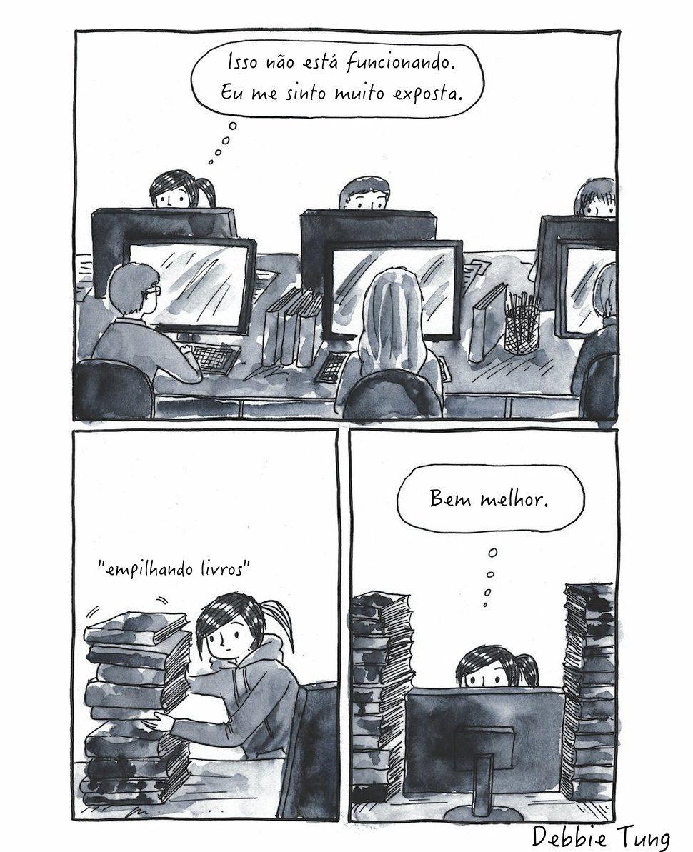 11 comics que correspondem perfeitamente com os introvertidos