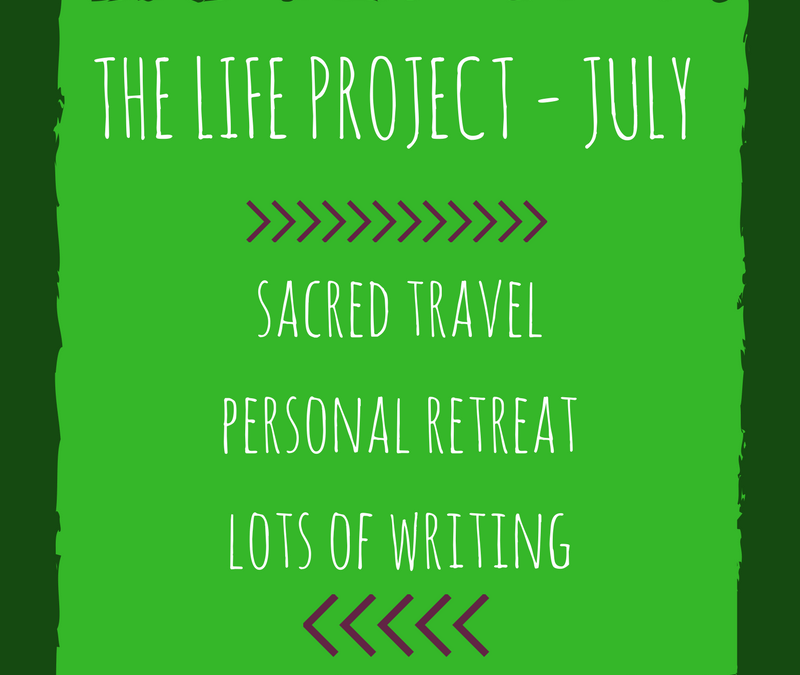 A Month of Sacred Travel