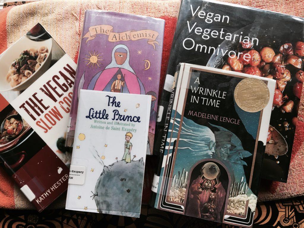 vegan stuff, inspirational books