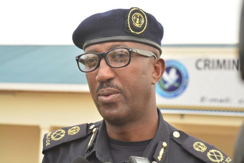 CSP Celestin Twahirwa, Umuvugizi wa polisi y'u Rwanda.