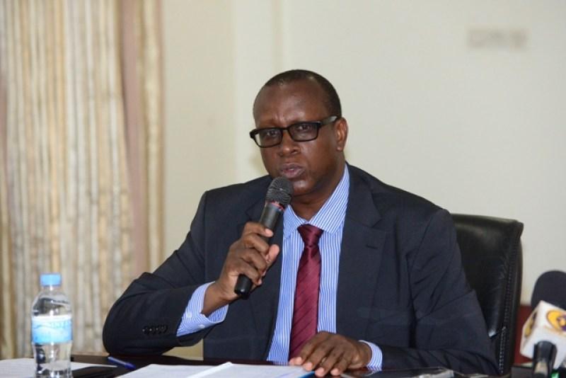 Dr Bizimana Jean Damascene, umunyamabanga nshingwabikorwa wa CNLG.