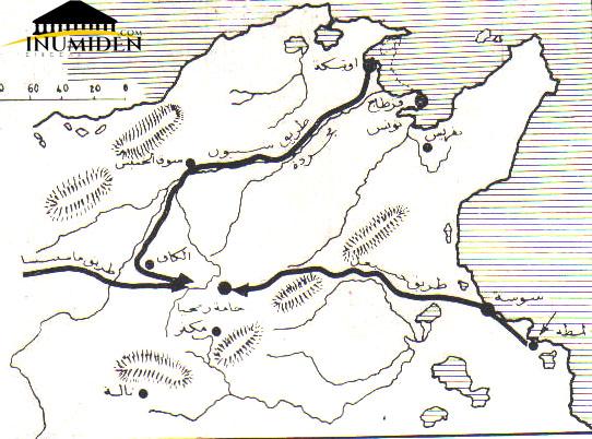 خطوط سير أطراف الحرب نحو ميدان المعركة
