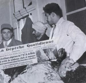 البروباغاندا الفرنسية بعد القضاء على بلقاسم قرين