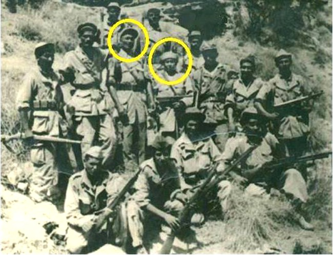 صادق شبشوب المدعو ڨوزير وزوجته في الجبل