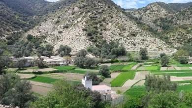 صورة عن قرية تاحفورت بآيت وراين. المصدر : http://frontdesforcesdemocratiques.org/