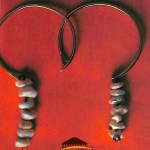 Anneaux d'oreille. Or et perles baroques (Pays chaoui - Constantine)
