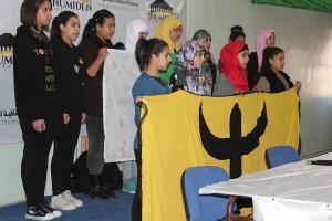 L'ouverture a été faite par l'hymne nationale algérien traduit en thachawith