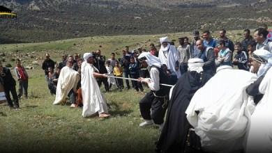 Photo de Jeux traditionnels  chaouis : Ghan ou irer n wasghoun
