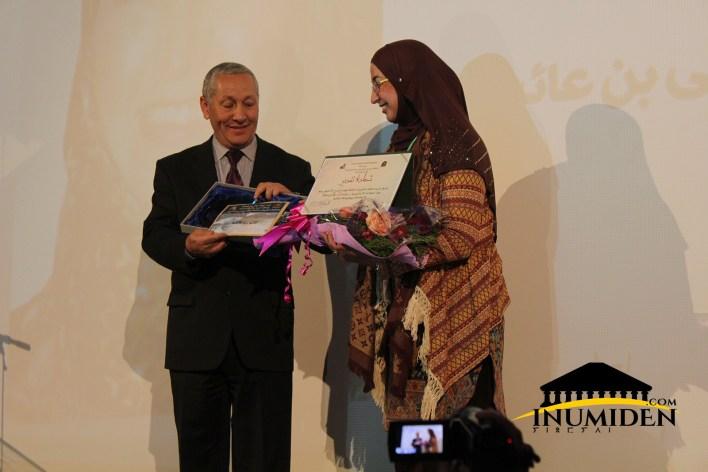 Leïla Benaïcha honorée par les organisateurs