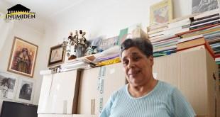Djemaa Djoghlal dans son appartement - 2015