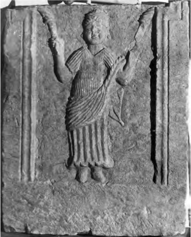 Fig. 7 : Stèle de Tigzirt (cl. J.-P. Laporte).