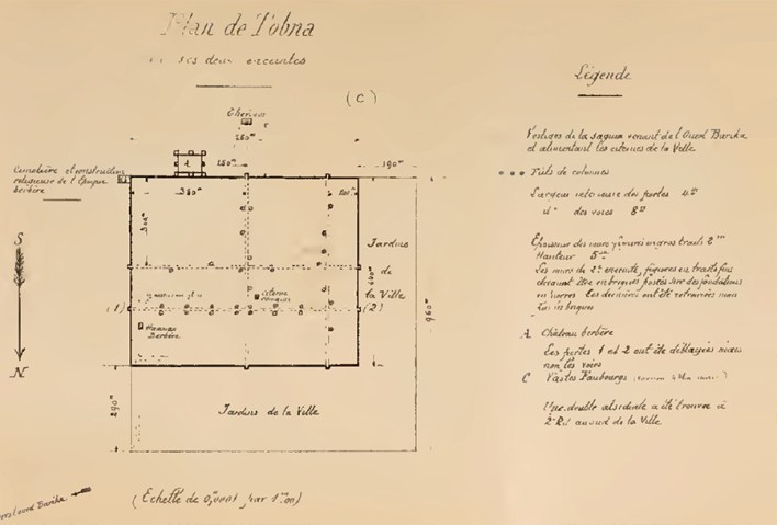 Fig. 3. – Plan de Tobna (R. Grange)