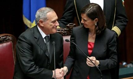 Piero Grasso e Laura Boldrini non sanno nulla dei tetti eliminati ai dipendenti di Senato e Camera?