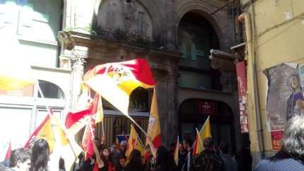 La Sicilia non dimentica la Catalogna: ieri, a Palermo, manifestazione alla Vucciria