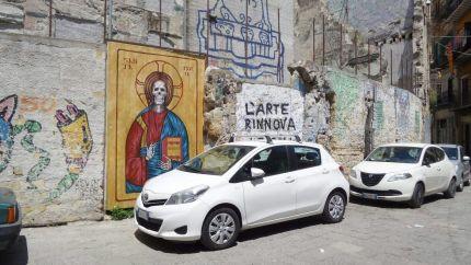 E così 'antimafia' e 'sinistra' di Palermo si 'manciaru' pure la Vucciria. Ma un dipinto...