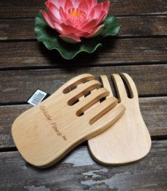 Garras de madera para ensaladas y fideos. Foto 1