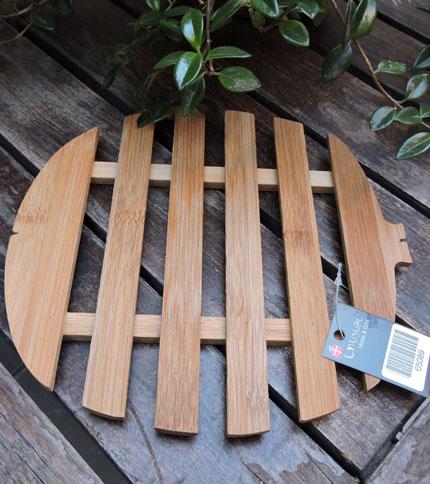 Foto 1 - Posa fuente de bamboo, completa.