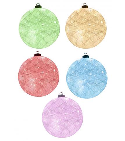Foto 3 - Bola de luz led a pila - hilo