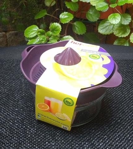 Foto 3 - Exprimidor Herevin Hawaii Violeta