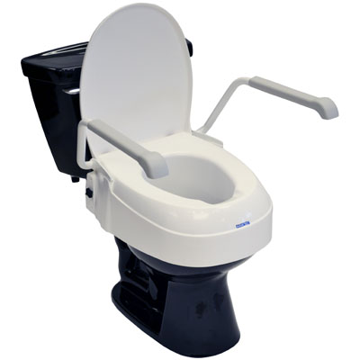Aquatec A900 Raised Toilet Seat 2 6 Quot With Lid And Armrests