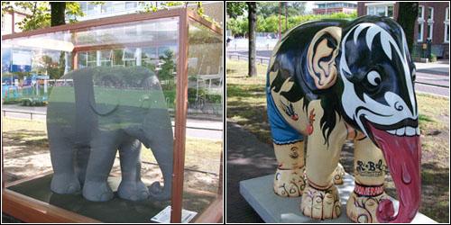 Elephants in Amsterdam 4