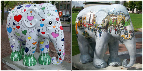 Elephants in Amsterdam 9