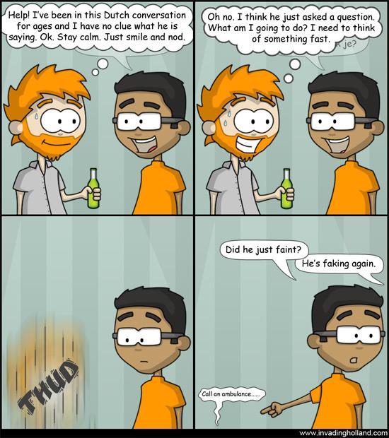 Exit Dutch Conversation