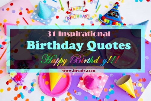 Happy Birthday 102 Motivational And Inspirational Birthday Quotes Wishes Video Messages