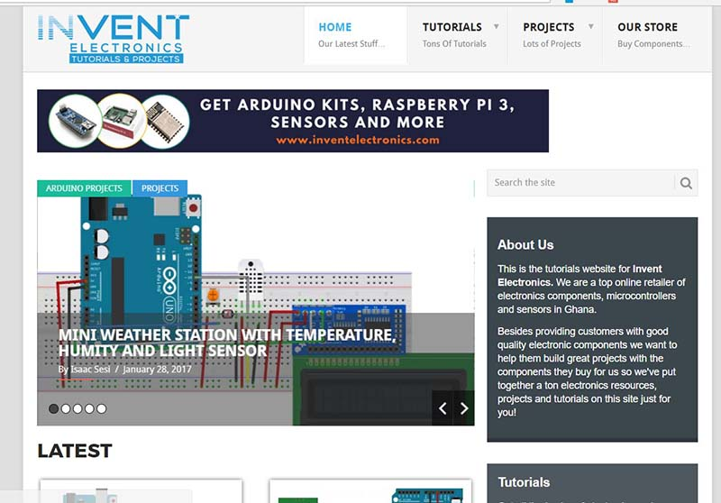 invent-electronics-tutorials