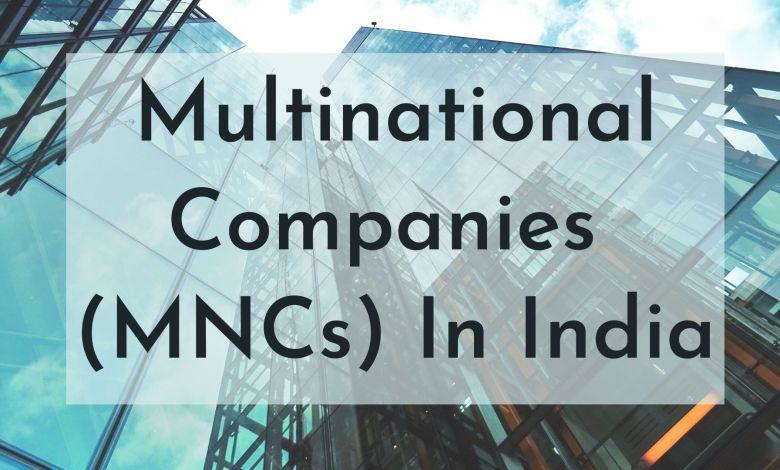 mnc companies in india