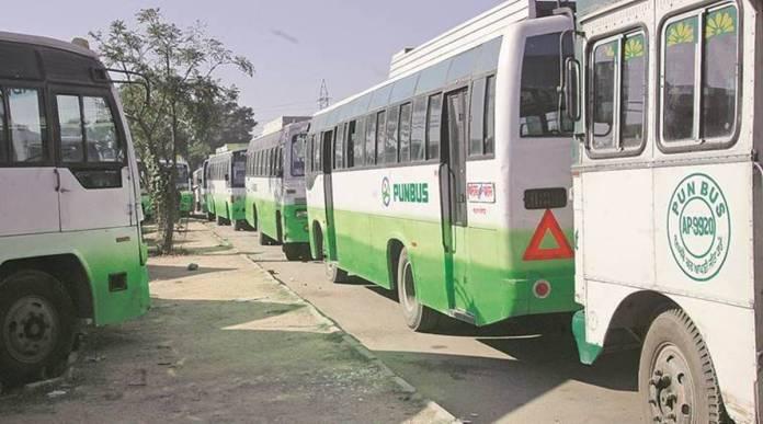 punjab bus 1200