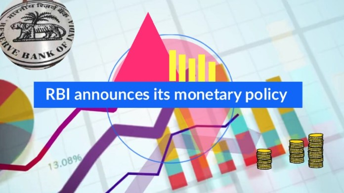 RBI announces its monetary policy
