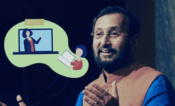 the truth is not what prakash javadekar told online education in india