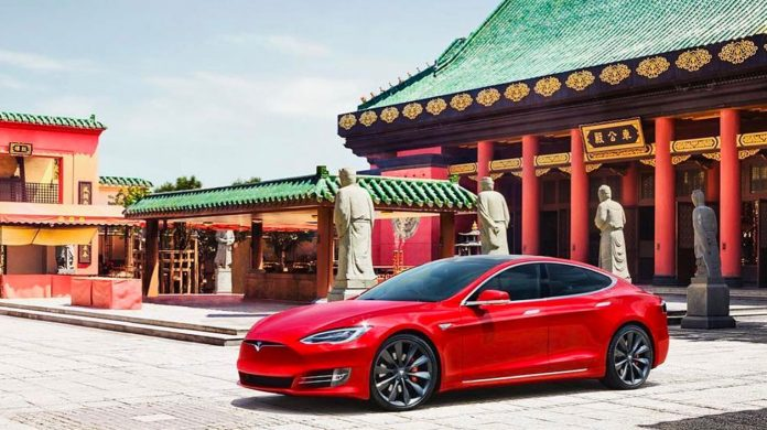 Tesla China e1616193651725