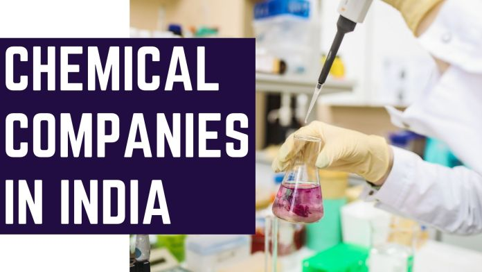 chemical comapnies in india