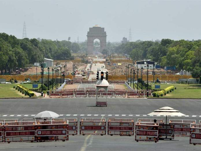 delhi lockdown ani