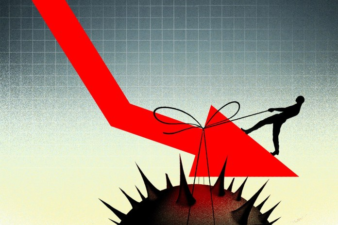 economy after coronavirus brian stauffer illustration 3 2l