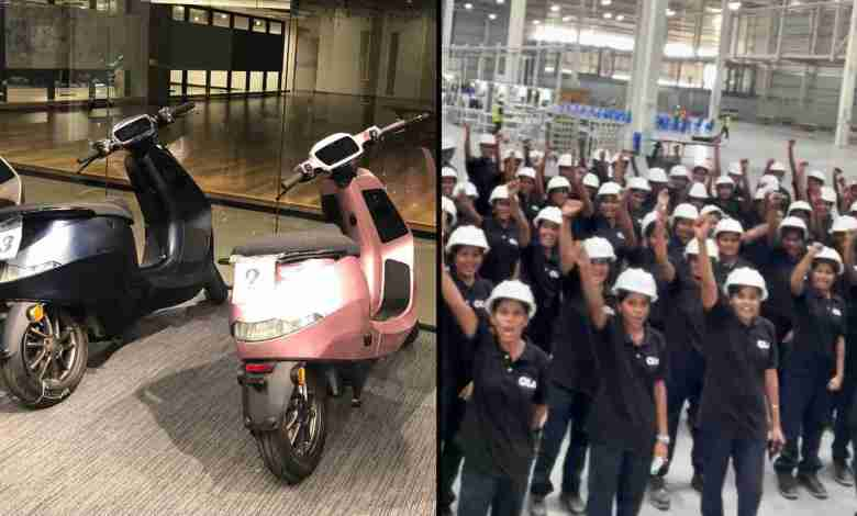 ola electric future factory all women workforce announced