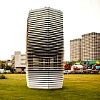 image of pollution tower